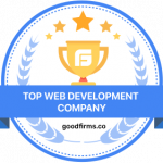 GoodFirms Badge over and all solutions awards